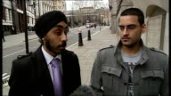 Three people jailed for involvement in killing of Gagandip Singh ENGLAND London EXT Amandeep Singh interview SOT