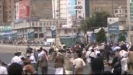 Three people were shot dead in Yemen on Tuesday one a passerby as security forces opened fire to disperse protesters calling for the ouster of...