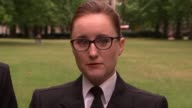 Three police officers up for award after confronting gunman London Sarah Currie interview SOT