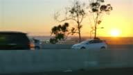 Drei Videos Autobahn in Kalifornien in 4 K