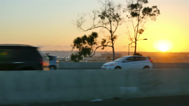 Three videos of highway in California in 4K