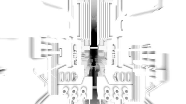 Through center of Circuit