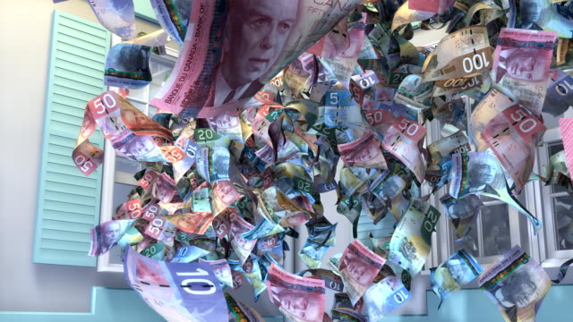 Throwing Canadian Money out the Window
