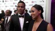 INTERVIEW Tia Mowry and Cory Hardrict at the 23rd Annual Elton John AIDS Foundation Academy Awards Viewing Party Sponsored By Chopard Neuro Drinks...