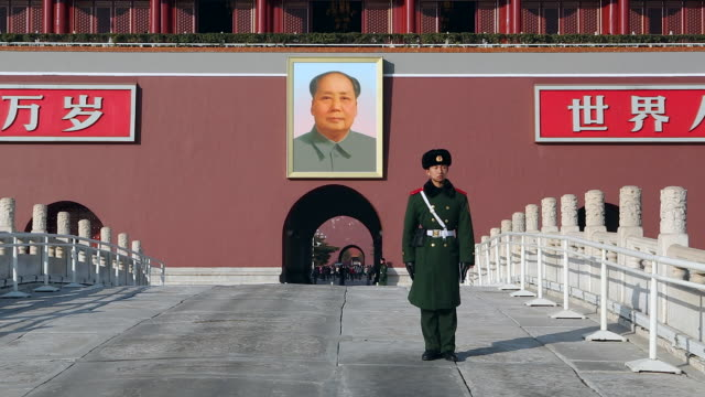 Tiananmen Square, Gate of Heavenly Peace, Forbidden City, Beijing, China