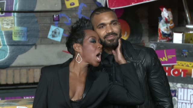 Tichina Arnold and Tyler Lepley at 'VH1 Hip Hop Honors The 90's Game Changers' Monday September 18 At 9PM ET/PT at Paramount Studios on September 17...