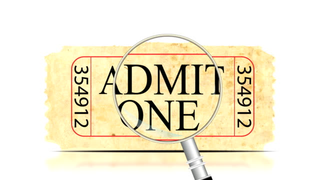 Ticket Search | Admit One