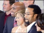 Tiki Barber Katie Couric Elmo John Legend and Ann Curry at the 'Hollywood Meets Motown' Benefit for National Colorectal Cancer Research Hosted By...
