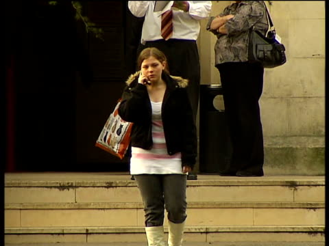 Tilbury car crash mother jailed Daughter of Davina Smith outside court Families of victims outside court