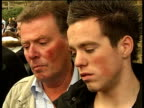 Tilbury car crash mother jailed Johnny Gray interview SOT Reporter to camera SOT