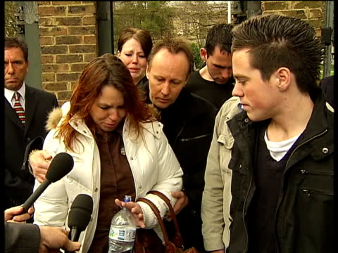 Tilbury car crash mother jailed Snaresbrook EXT Mother of Lee Gray upset outside court