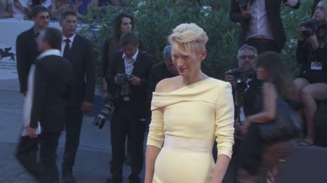 Tilda Swinton at 'A Bigger Splash' Red Carpet 72nd Venice Film Festival at Palazzo del Cinema on September 06 2015 in Venice Italy