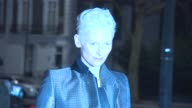 Tilda Swinton at David Bowie Is Exhibition VIP Private Viewing at Victoria Albert Museum on March 20 2013 in London England