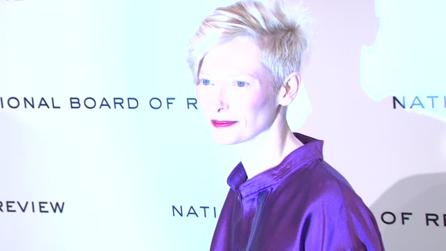 Tilda Swinton at National Board of Review Awards Gala Red Carpet at Cipriani 42nd Street on 1/10/2012 in New York City NY