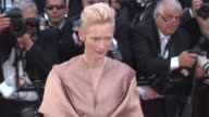 Tilda Swinton at Opening Film Moonrise Kingdom Premiere 65th Cannes Film Festival at Palais des Festivals on May 16 2012 in Cannes France Tilda...