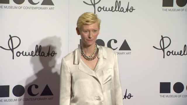 Tilda Swinton at Pomellato Celebrates The Opening Of Its Rodeo Drive Boutique Hosted By Tilda Swinton And Benefiting MOCA on 1/30/12 in Los Angeles CA