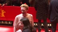 Tilda Swinton at the 59th Berlin Film Festival Opening Night 'The International' Premiere at Berlin
