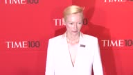 Tilda Swinton at Time 100 Gala at Frederick P Rose Hall Jazz at Lincoln Center on April 24 2012 in New York New York