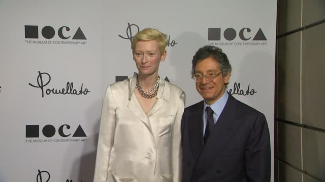 Tilda Swinton Jeffrey Deitch at Pomellato Celebrates The Opening Of Its Rodeo Drive Boutique Hosted By Tilda Swinton And Benefiting MOCA on 1/30/12...