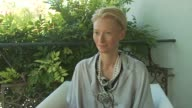 Tilda Swinton on giving herself the opportunity to see films at the festival and being a film prevert at the Io Sono L'Amore Interviews Venice Film...