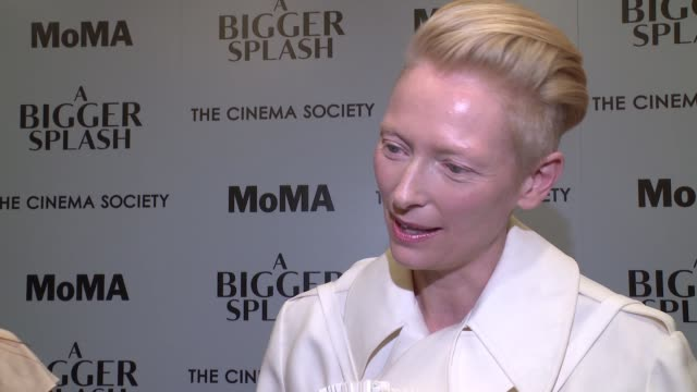 INTERVIEW Tilda Swinton on her character Marianne on what drew her to the role in the film On how she suggested a different angle for her character a...