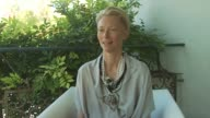 Tilda Swinton on how the film has been received and how it's grown legs at the Io Sono L'Amore Interviews Venice Film Festival 2009 at Venice