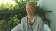 Tilda Swinton on how this has been a different experience in her involvement with the film at the Io Sono L'Amore Interviews Venice Film Festival...