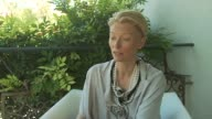 Tilda Swinton on not dubbing her voice to cover the accent as she's done previously at the Io Sono L'Amore Interviews Venice Film Festival 2009 at...