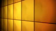 Tile Grid Wall Background Orange