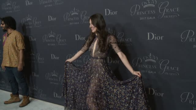 Tiler Peck at 2017 Princess Grace Awards Gala With Presenting Sponsor Christian Dior Couture at The Beverly Hilton Hotel on October 25 2017 in...