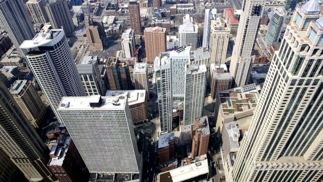 HD inclinazione: Veduta aerea di Chicago Skyline panorama cittadino Stati Uniti