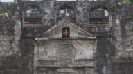 Tilt down Fort San Pedro Cebu Bohol Philippines