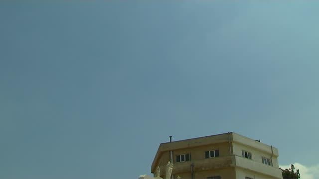 Tilt Down Shot Roman Catholic Church Amman Governorate Amman Jordan
