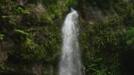 Tilt down, waterfall, Lower Bouma Falls, cascading down mountain
