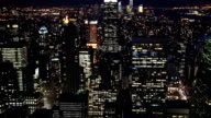 HD Tilt: New York City Skyline aerial view