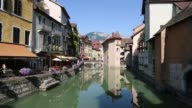 Tilt of Annecy Old Town