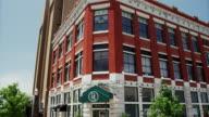 Tilt up beautiful old brick hotel