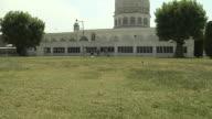 Tilt Up Hazrat Bal Shrine Srinagar jammu and Kashmir