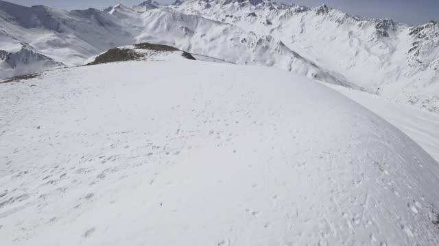 Tilt omhoog: bergen in Ischgl