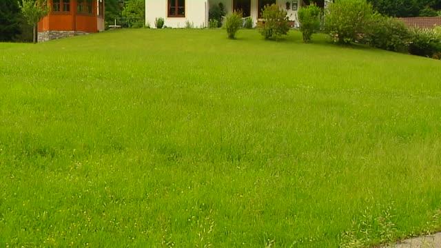 Tilt Up Shot House Salzburg Austria