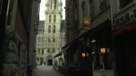 Tilt Up Shot Ornate Townhall Brussels Flemish Brabant Belgium