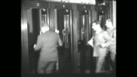 tiltdown MS people in gallery watch special session of US House of Representatives including a woman presumably actress Tallulah Bankhead whose...