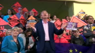 Tim Farron being heckled over his alleged stance on gay sex being a sin