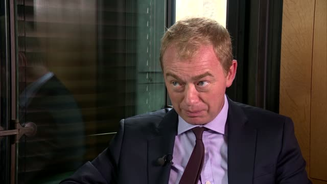 London INT Tim Farron MP interview SOT re constituents / being Lib Dem leader / samesex marriage