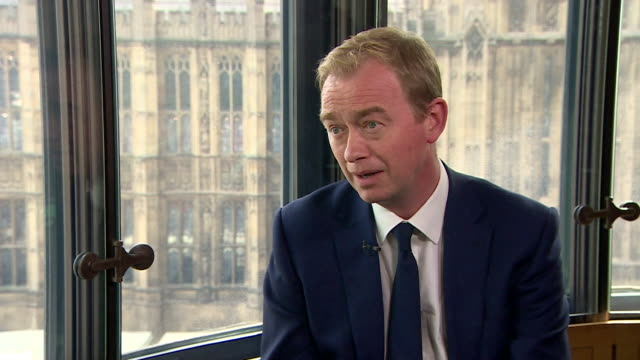 Tim Farron saying he doesn't believe gay sex is a sin but that as a political leader his job is not to 'pontificate on theological matters'