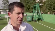 Tim Henman discusses Andy Murray's turbulent season his prospects for this year's Wimbledon how happy he is about Roger Federer's resurgence and...
