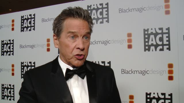 INTERVIEW Tim Matheson on the event at 67th Annual ACE Eddie Awards in Los Angeles CA