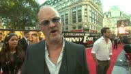 Tim McInnerny on how Rowan Atkinson is a perfectionist at the Johnny English Reborn UK Premiere at London England
