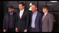 Tim Nordwind Damian Kulash Dan Konopka and Andy Ross at the 59th Annual Grammy Awards Arrivals at Staples Center on February 12 2017 in Los Angeles...