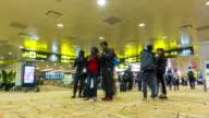 Time lapse : Airport Passenger Terminal